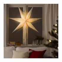 Ikea - Estrella Navideña Sueca Gigante Stråla 70 Cm Blanca