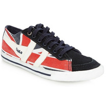 Ultimo Par! Zapatillas Gola Quota Union Jack Importadas Uk