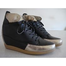Bazar De Fábrica Sneaker De Amarrar N.36