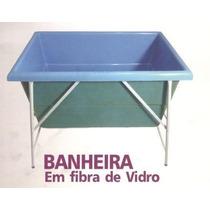 Banheira Fibra Banho E Tosa, Pet Shop, Cachorro Gato