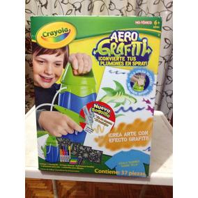 Aerografiti De Crayola, Combierte Tus Plumones En Spray.