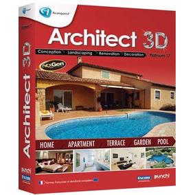 Architect 3d Platinum Ingles, Licencia Full - Arquitectura.