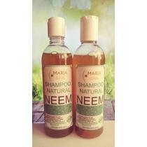 Lote 20 Shampoo Orgánico De Neem Piojos Repelente Caspa