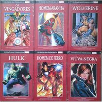 Coleção Os Heróis Mais Poderoso Da Marvel Do Nº 1 Ao Nº 10