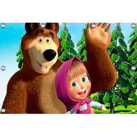 Masha E O Urso - 2,50 X 2,50m, Minions, Peppa Super Oferta