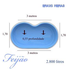piscina de fibra feijao preco