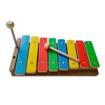 Xilofone Instrumento Musical Artesanal De Madeira