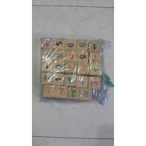 Material Didáctico Cubos En Madera De Números