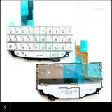 Teclado Flex Blackberry Q10 Mic Blanco 100% Original