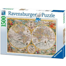 Rompecabezas Ravensburger Puzzle 1500 Piezas Modelos 4