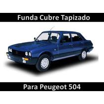 Funda Cubre Asiento Cuero De Tapicería Para Peugeot 504
