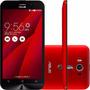 Celular Asus Zenfone 2 Laser Vermelho Dual 32gb 4g Ze601