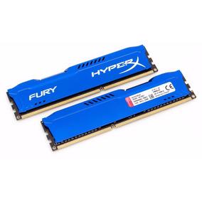 Memória Pc Desktop Kingston Hyperx Fury 4 Gb Azul 1600 Mhz