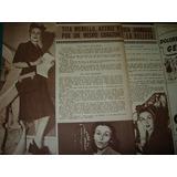 Tita Merello Actriz Y Mujer Clipping Revista Radiolandia