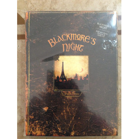 Blackmore´s Night Box Paris Moon Cd E Dvd Made In Germany