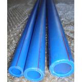 Tubo Ppr Azul Pn20 20mm X 2,8mm 3mts Ar Comprimido Tigre Ind