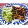 Gusano De Maguey Prehispanico Platillo Gourmet Alta Cocina