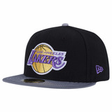 Boné New Era Aba Reta - Los Angeles Lakers - Fechado
