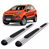 Estribos Oval Cromado Bepo Para Ford Ecosport Kinetic 2013+
