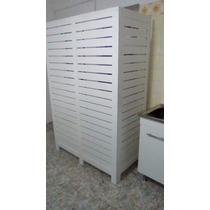 Biombos, Paneles Divisores De Pino Para Monoambientes