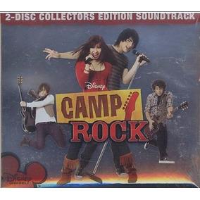 Cd+dvd Camp Rock - Banda De Sonido - Nuevo - Envios X Oca.-