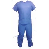 Pantalón Quirúrgico Desechable Sms Gms Paq. Con 10 Pzas