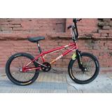 Bicicleta Vairo Skull Rodado 20 Bmx Freestyle. Planet Cycle.