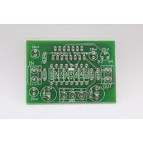 Placa Para Montar Amplificador De Até 100w Com Tda7293 7294