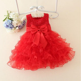 Lindo Vestido Festa Princesa Casamento Infantil Varias Cores