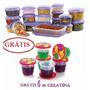 18 Potes Similar Tupperware Microondas Freezer Gratis Gelati