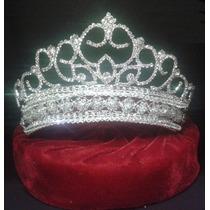Corona Tiara Xv Años Boda Reina Princesa Fiesta Presentación