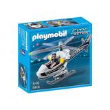 Playmobil Policía Helicóptero Policial 5916 Educando