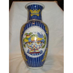 Jarrón De Porcelana China , Impecable !!!!!!
