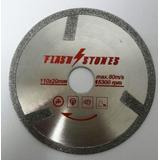 Disco Diamantado 110mm Eletrolitico Márm.importado, Plástico