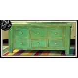 Mueble Para Lcd - De Vintage