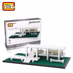 Nanoblocks Casa Farnsworth (architecture, Loz)