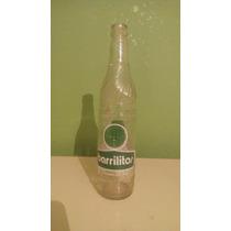 Botella Antigua Barrilitos Medio Litro Refresco Antiguo