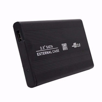 Case Gaveta Hd Sata Externo 2.5 Usb Notebook Tv Pc + Capa