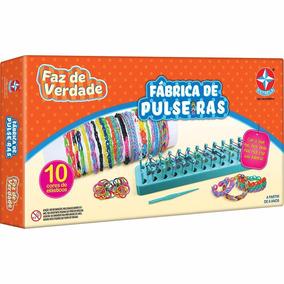 Fabrica De Pulseiras Elástico Brinquedo Estrela 10 Cores