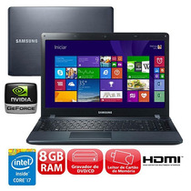Notebook Samsung Ativ 2 Core I7 - 8gb, 1tb E 2gb De Vídeo