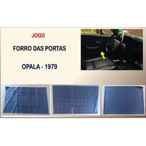Forro Lateral Da Porta Opala 79 2 Portas Jogo Com 6 Peças