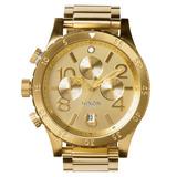 Relógio Nixon 48-20 Chrono All Gold