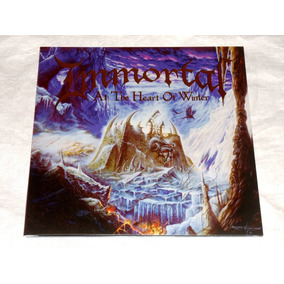 Immortal At The Heart Of Winter Gatefold Lp Silver Hotfoil