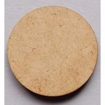 Base Redonda 5cm Mdf 50 Peças Para Biscuit