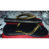 Chinelo Customizado Estilo Strass Lindo Havaianas Bordado
