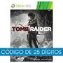 Tomb Raider Xbox 360 Código De 25 Dígitos - Mídia Digital
