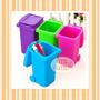 Porta Treco Mini Lixeira De Plástico
