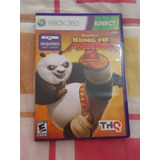 Video Juego P/ Xbox 360 Kinect: Kung Fu Panda 2 Thq Open Box