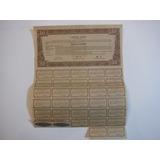 Bono Chino Liberty Bond 10$ Año 1937 Peritado