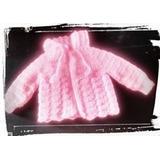 Saquitos De Bebe Al Crochet Niños Niñas